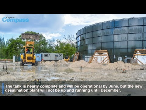 Cayman Water ramps up production and storage