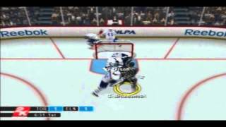NHL 2K10: The Ellsworth Project/New Franchise! 1st Period