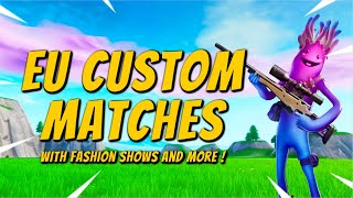 FORTNITE FASHION SHOW  LIVE SKIN COMPETITION🔴CUSTOM MATCHMAKING🔴 SOLO/DUO/SQUAD SCRIMS FORTNITE LIVE