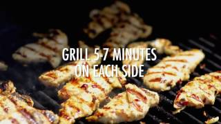 Grilled Chilean Chicken with Chile Verde Sauce
