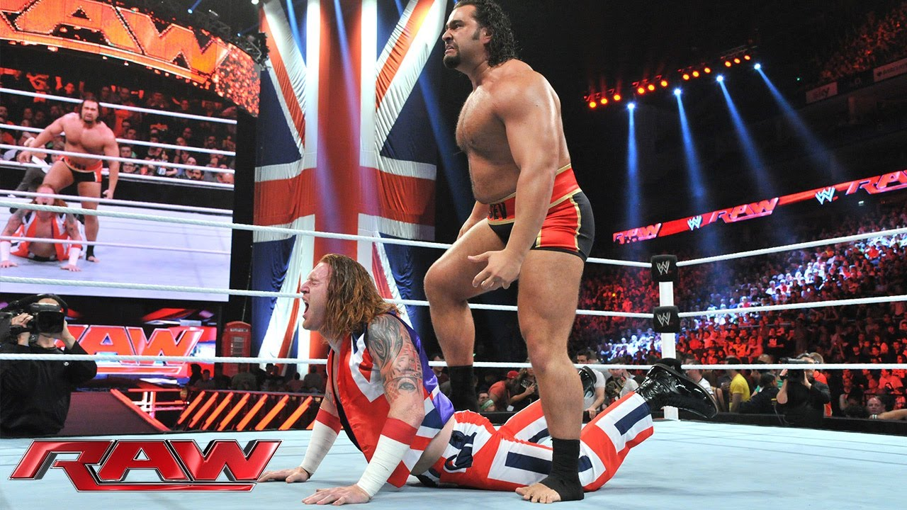 Heath Slater Vs Rusev Raw May 19 2014 Raw May 19