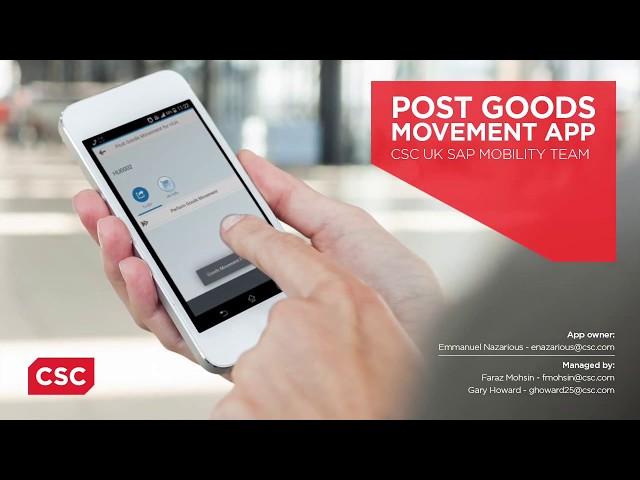 SAP Fiori App on Warehouse Management | DXC Blogs