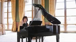 Noriko Ogawa piano lesson on Erik Satie 'Le Piccadilly'