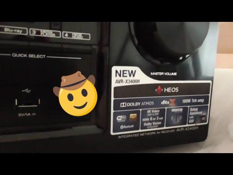 Repeat CEDIA 2018   New Denon AVR-X6500H, X4500H, and X3500H
