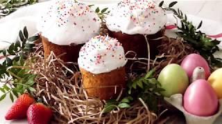 Очень НЕЖНЫЕ Куличи без дрожжей и закваски!**Very TENDER Cakes without yeast