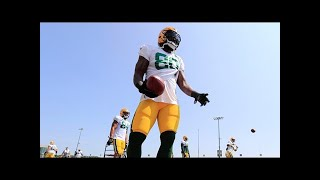 Green bay packers' martellus bennett breaks down talking about his brother michael's las vegas inci