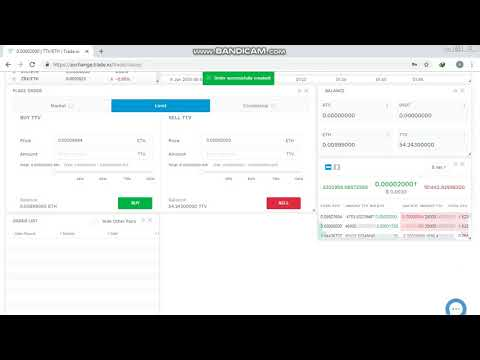 How To Exchange TTV To ETH
