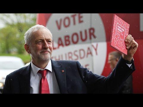 Jeremy Corbyn launches Labour's manifesto - watch live