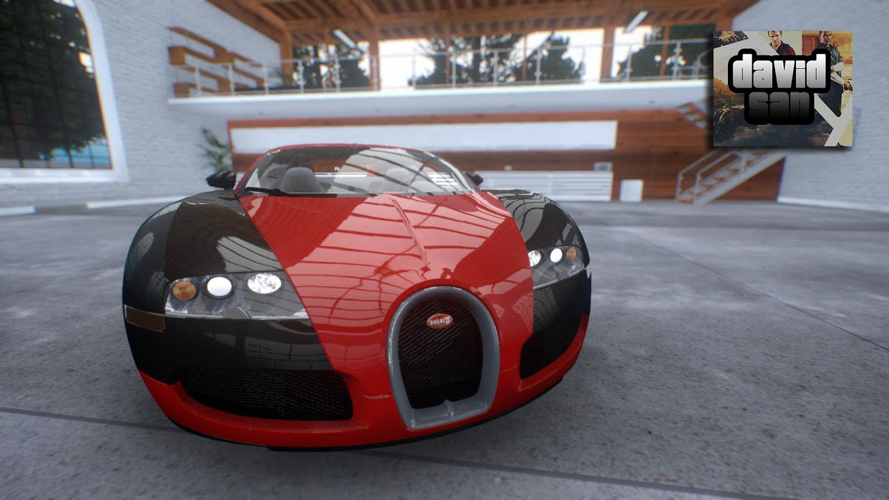 gta iv mod bugatti veyron 16 4 forza 5 garage youtube. Black Bedroom Furniture Sets. Home Design Ideas