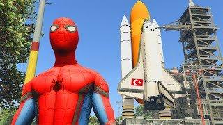 Şimşek ve Örümceğin Uzay Yolculuğu Macerası Gta 5 Uzay Modu