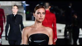 Irina Shayk desfila en Italia tras romper con Bradley Cooper Video