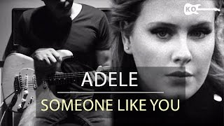 Download Adele - Someone Like You - Electric Guitar Cover by Kfir Ochaion MP3 song and Music Video