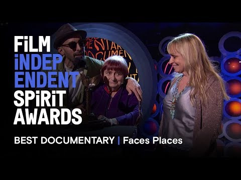 FACES PLACES wins Best Documentary at the 2018 Film Independent Spirit Awards