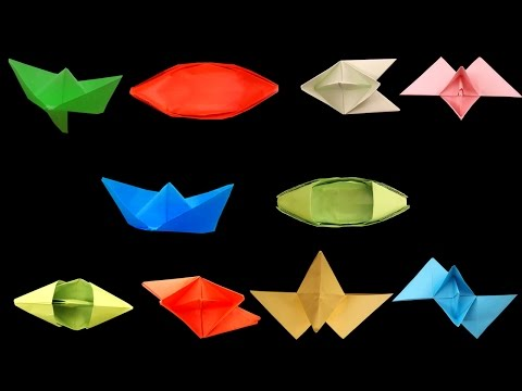 How To Make Paper Boats