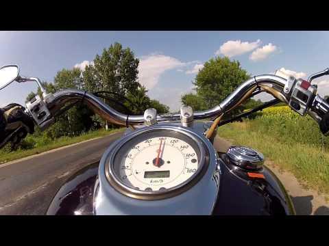 Yamaha XVS 1100 DragStar - GoPro HD 2