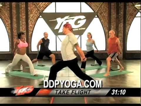 Ddpyoga Demo Strength Builder Workout Youtube