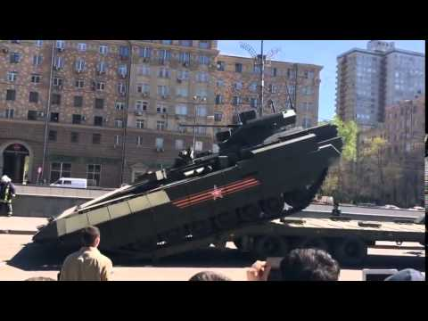 Fails of new Russian Armoured Vehicles, Moscow