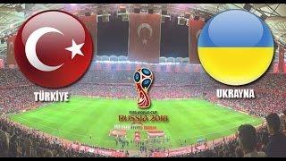Türkiye 2-2 Ukranya Geniş Maç Özeti HD