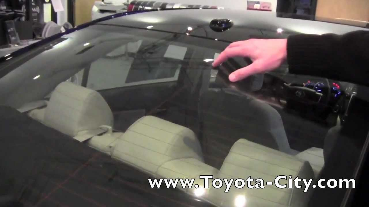 2012 Toyota Camry Rear Window And Side Mirror