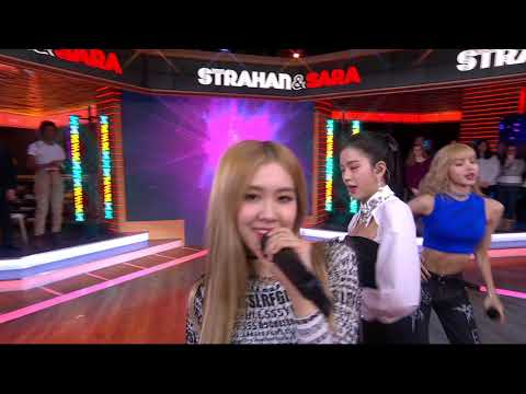 [EXCLUSIVE] BLACKPINK - Forever Young - Live from Strahan &