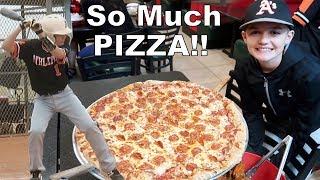 Baseball and Pizza Challenge Video