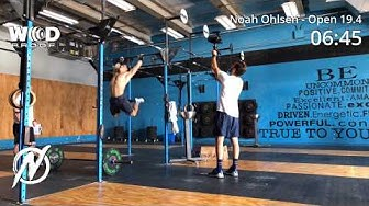 CrossFit Open 19.4.1 | Noah Ohlsen