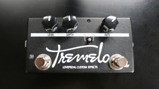 Lovepedal Custom Tap Tremolo Pedal Demo by Shawn Tubbs