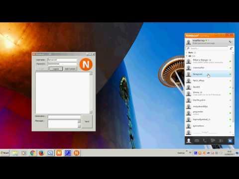 HOW TO Create Nimbuzz App Client Using VB.Net