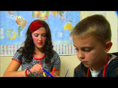 Me acting on S4C childrens tv show 'Loti Borloti'. (14 mins)