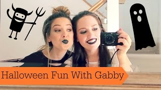 Halloween Fun With Gabby