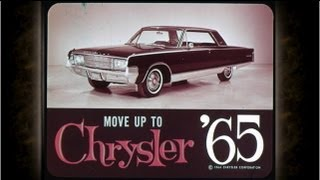 1965 Chrysler Vehicle Line Up Sales Features - Dealer Promo Film