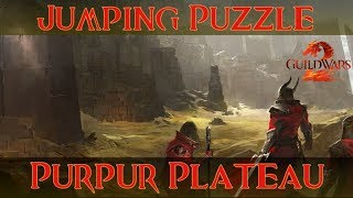 Guild Wars 2 Jumping Puzzle: Purpur-Plateau / Crimson Plateau