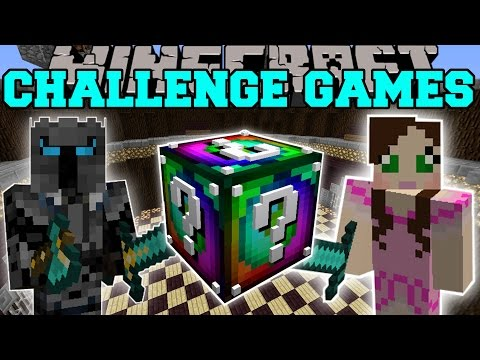 Minecraft: SPIRAL CHALLENGE GAMES - Lucky Block Mod - Modded
