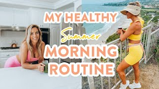 HEALTHY MORNING ROUTINE // my productive & self care habits