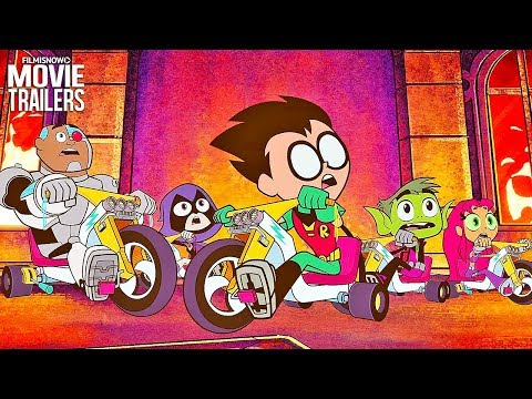 "TEEN TITANS GO! TO THE MOVIES ""Time Cycles"" Clip NEW (2018) - DC Animated Movie"
