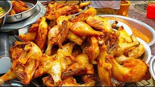 Quán cơm gà xối mỡ vỉa hè lớn nhất quận 8, ngày bán hơn 100 ký đùi gà