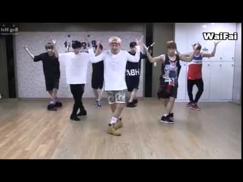 EXO -Call Me Baby Magic Dance (BTS Danger)