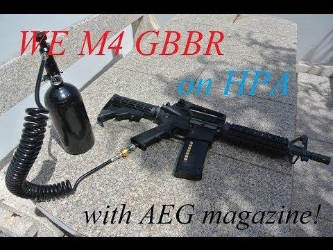 Custom WE M4 CQB (air blowback)