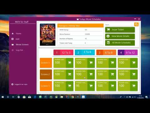 Movie Ticket Booking System using JavaFX by Soumodipta Bose
