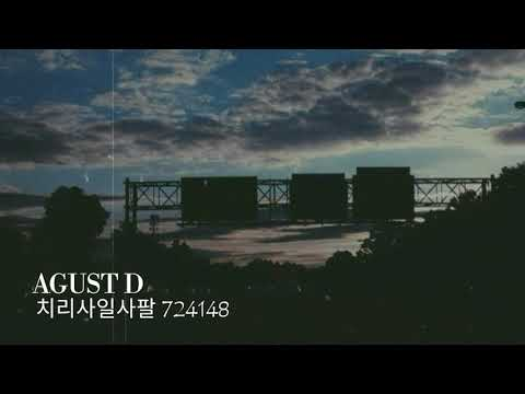 Free Download Agust D - 치리사일사팔 (724148) [indo Lirik] Mp3 dan Mp4