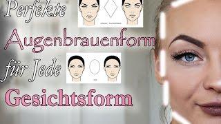 Welche Augenbraue passt zu meiner Gesichtsform? / Eyebrow Shape to your Face shape