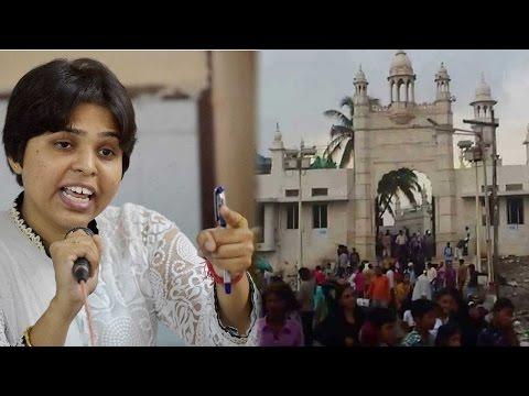 Trupti Desai to enter Haji Ali Dargah, Shiv Sena leader fumes