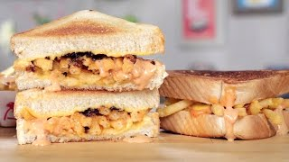 Animal Style In-N-Out Grilled Cheese Sandwich Recipe | Eat the Trend