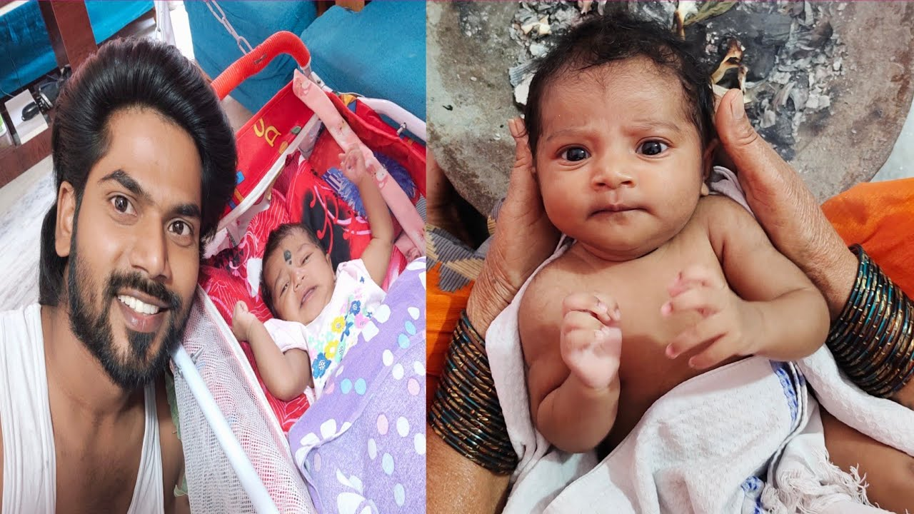 Download మా మామ పాప చాలా Cute గా ఉంది🥰|| Jagathi Varma || Thulasi Indu Vlogs || Ravivarma || Cute Baby