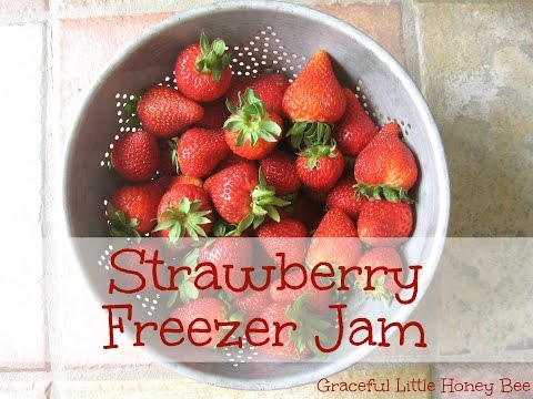 3-Ingredient Strawberry Freezer Jam - NO COOKING REQUIRED