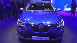 Renault Mégane 5-doors GT ENERGY TCe 205 EDC (2016) Exterior and Interior in 3D