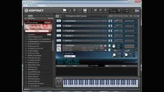 cinematic sound design kontakt library demo