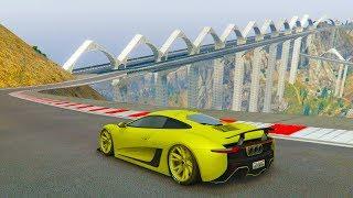 NUEVO PUENTE INCREIBLE! - CARRERA GTA V ONLINE - GTA 5 ONLINE