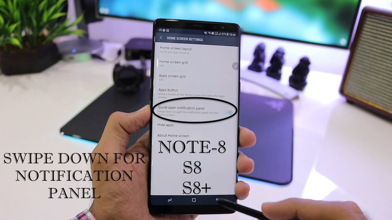 how to show notifications in gzpax s8 watch