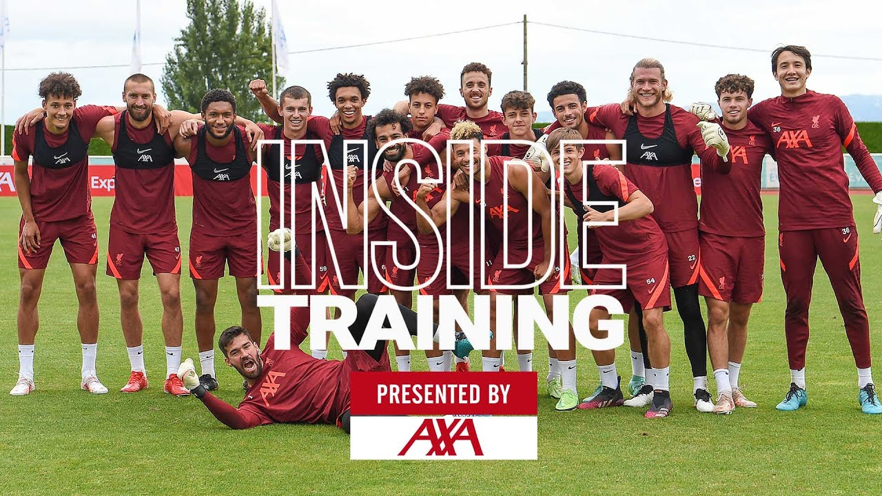 Inside Training: Brilliant Old vs Young shooting & golden goal competition